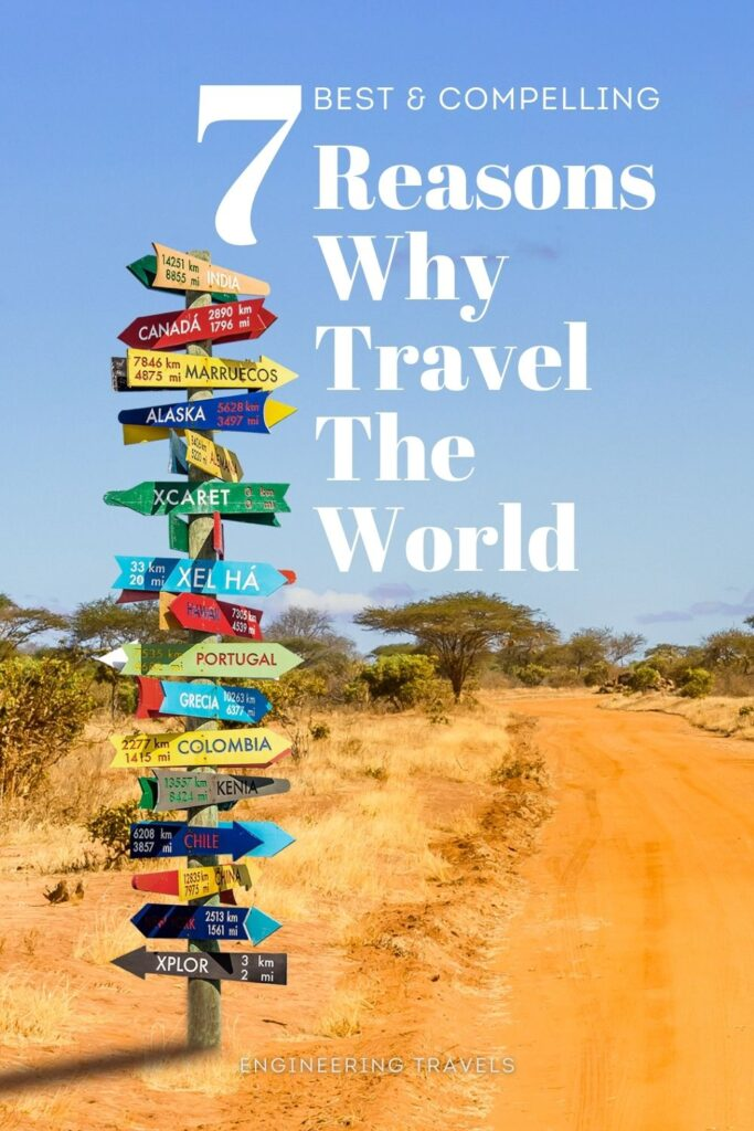 Reason Why Travel The World