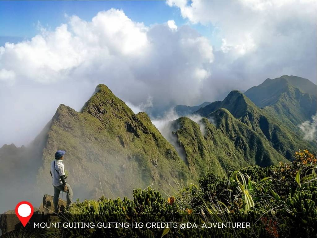 Mount Guiting Guiting, Philippines