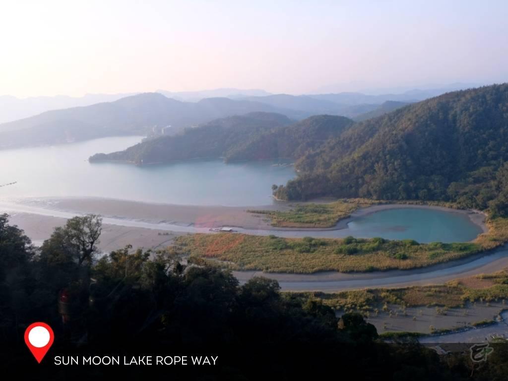 Sun Moon Lake Rope Way, Nantao, Taiwan