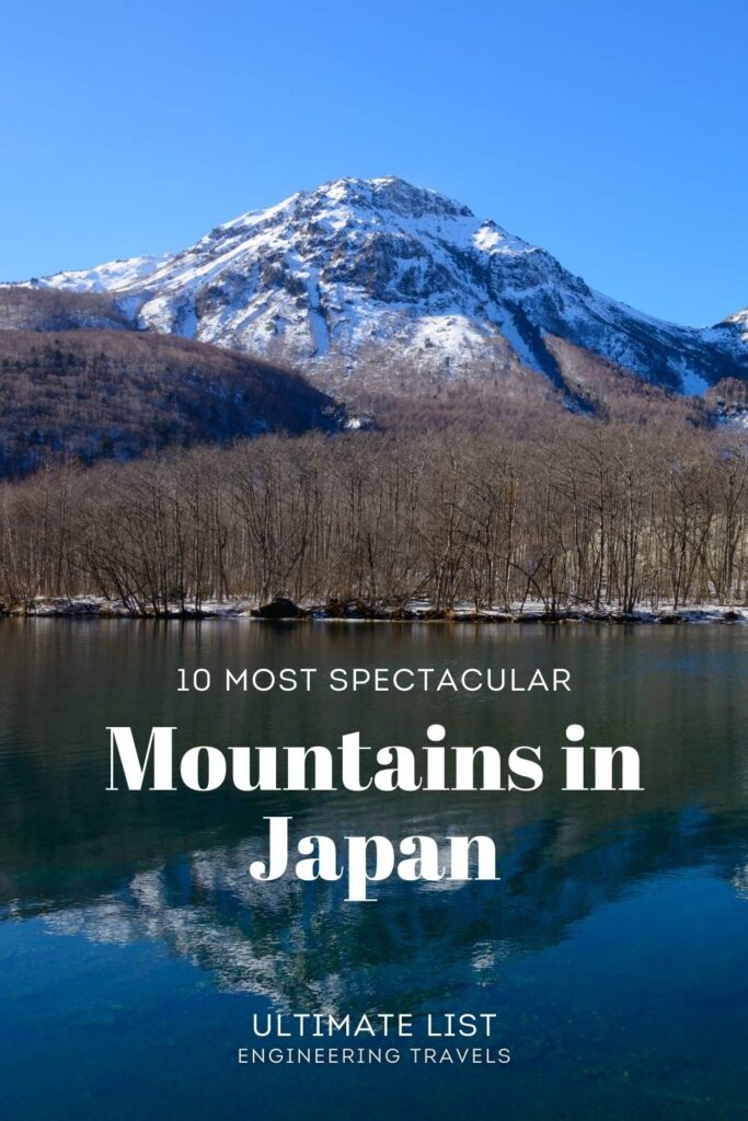 mountains in Japan