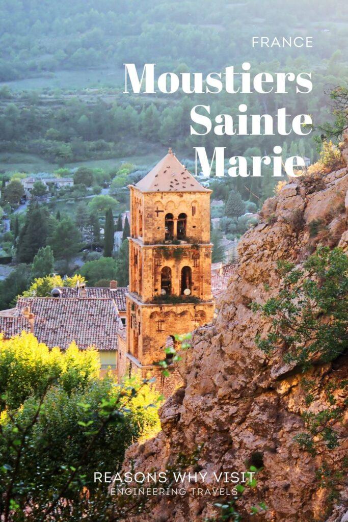 Moustiers-Sainte-Marie, France