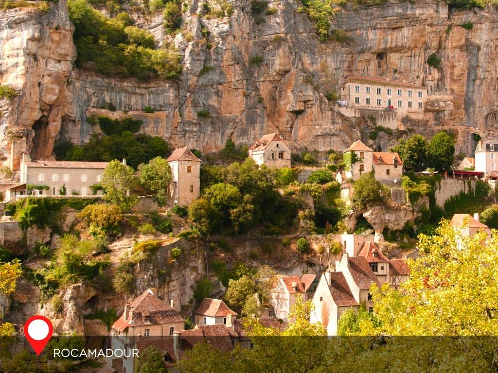 Mornings in Rocamadour, France