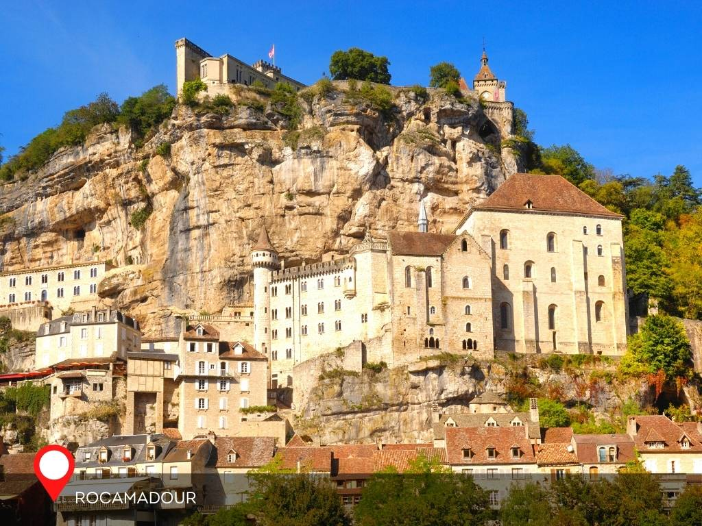 Day in Rocamadour, France