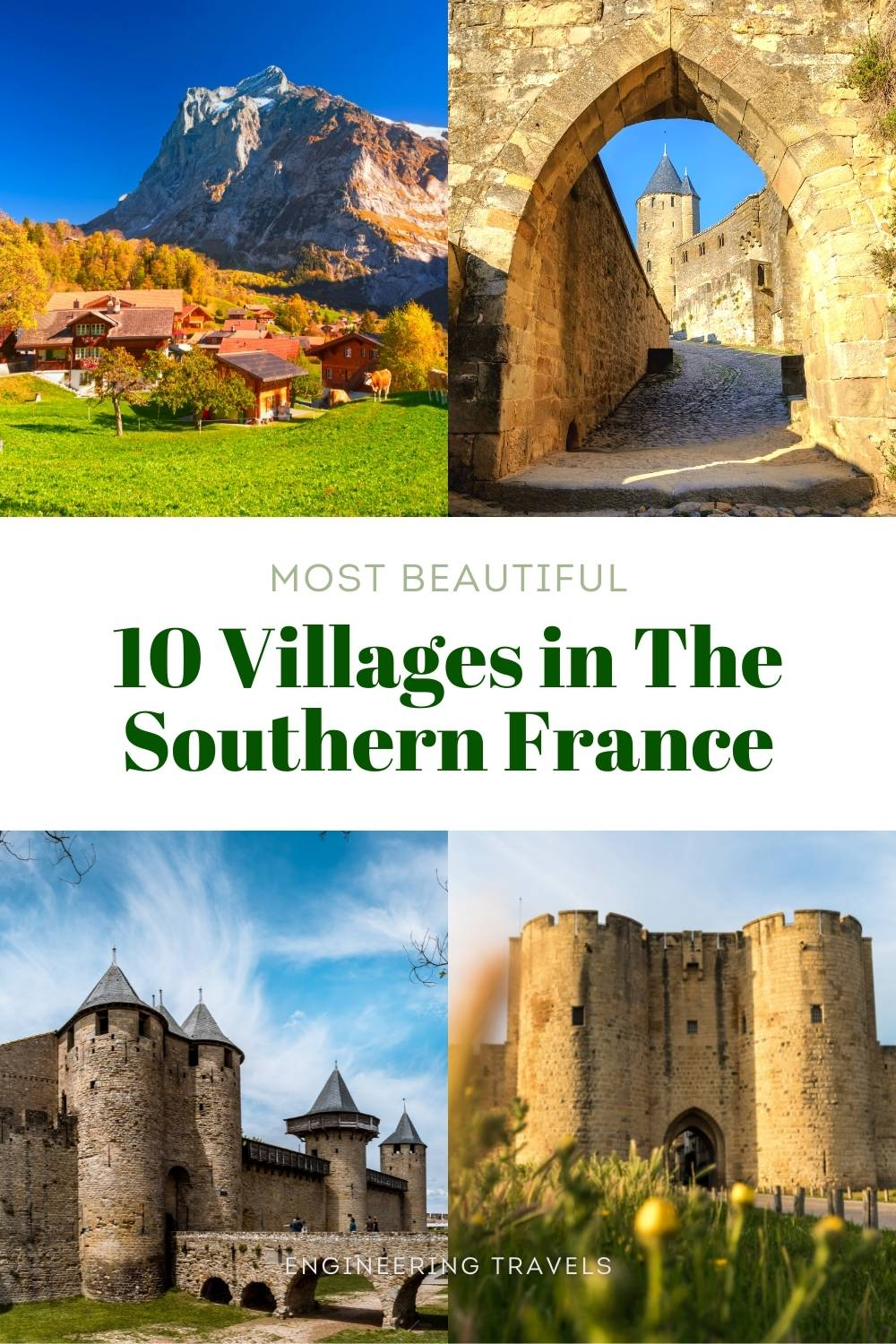 Beautiful Villages in the South of France