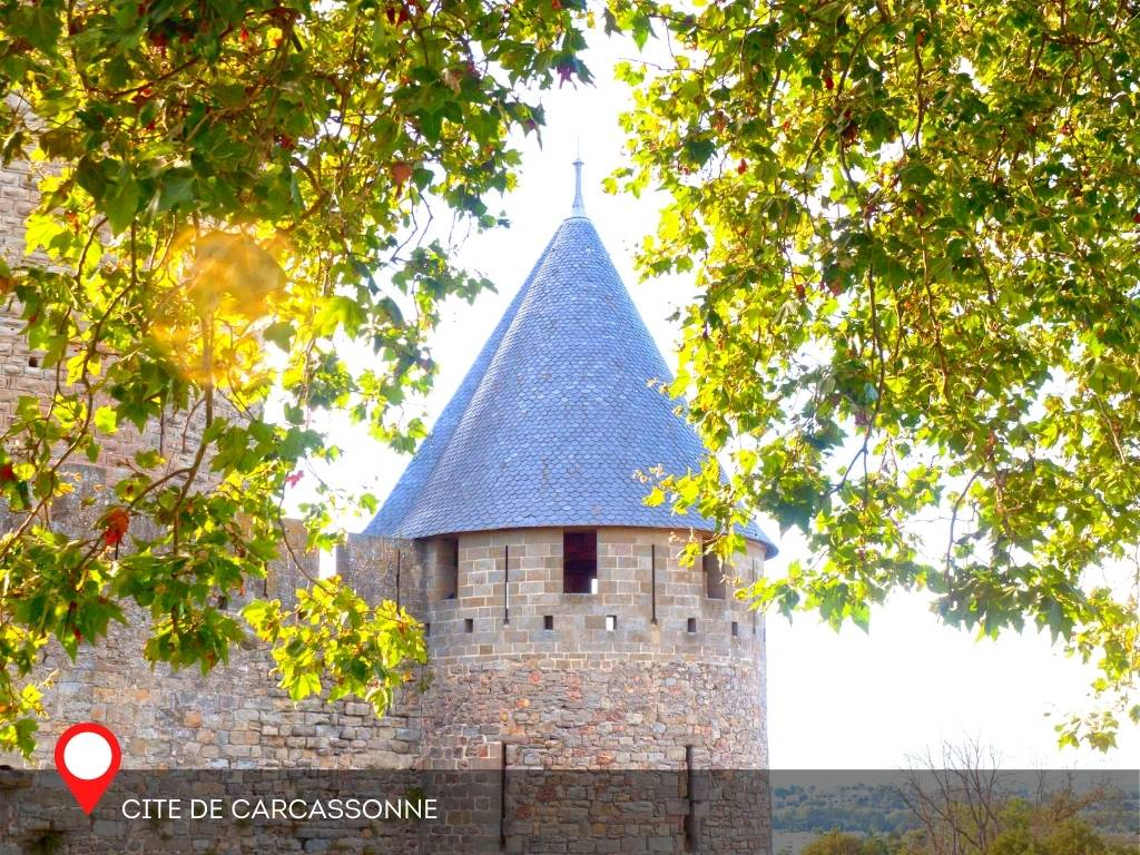 tower, Carcassonne, France