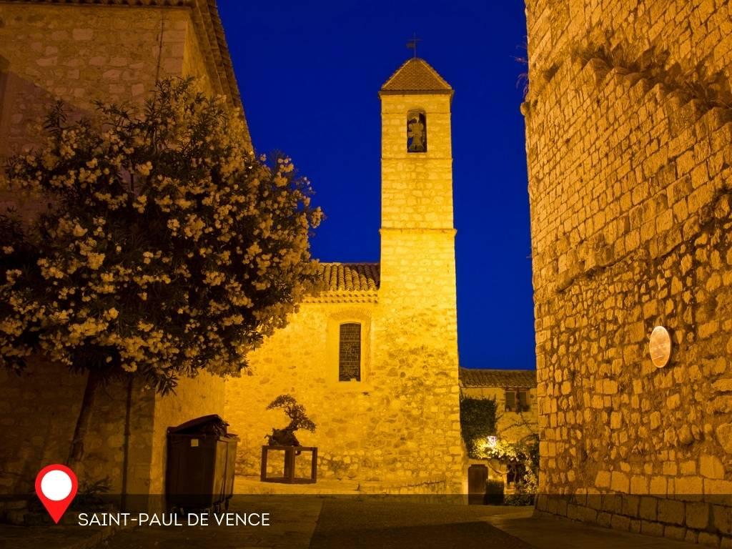 Night, Saint Paul de Vence, France